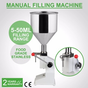 Newest Design BSC-A03 Series 5~50ml Manual Liquid Filling Machine For Cream Shampoo And Cosmetic