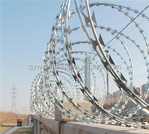 Security Fencing Razor Barbed Wire/razor Combat Wire/safety Razor ...