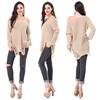 High Quality Fashion Womens Off Shoulder Oversized Pullover Sweater