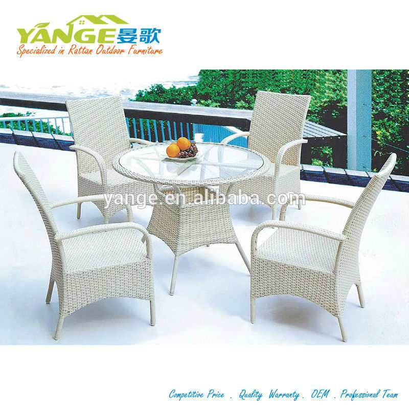 Rattan Wicker Restaurant Outdoor Furniture
