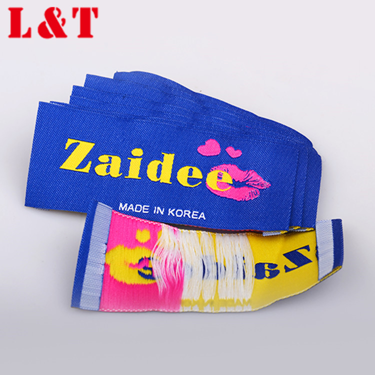 Best Quality Woven Custom Logo Sewing Labels Neck Labels For T Shirts