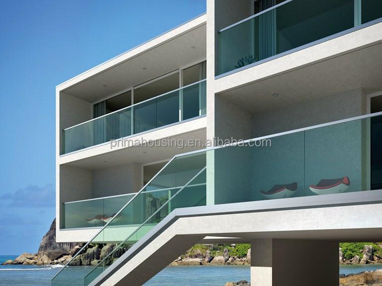 Tempered Glass Balcony Stainless Steel Railing Design Buy Balcony