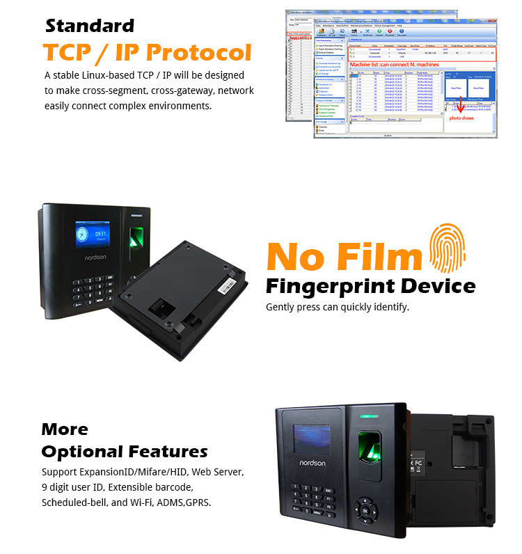 Biometric Scanner/ Barcode Scanner Reader Fingerprint Access