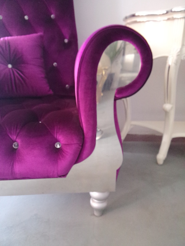 Danxueya Living Room Furniture High Back Sofa Chair Antique