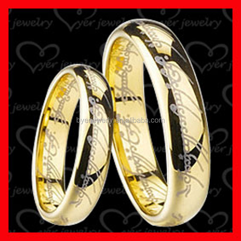 24 carat gold wedding rings for woman and men wedding gold ring