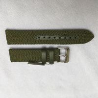 High quality long duration time color can be customized custom perlon strap for watch
