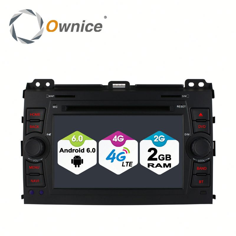 Octa core Android 6.0 Ownice C500 car DVD player for Toyota Prado 120 support OBD DAB TPMS Built in 4G LTE