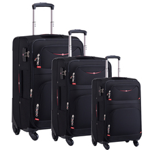 3 pcs set 20 24 28 inch <span class=keywords><strong>xe</strong></span> <span class=keywords><strong>đẩy</strong></span> va li con lăn <span class=keywords><strong>túi</strong></span> <span class=keywords><strong>hành</strong></span> <span class=keywords><strong>lý</strong></span> 4 bánh <span class=keywords><strong>xe</strong></span> mềm nylon <span class=keywords><strong>hành</strong></span> <span class=keywords><strong>lý</strong></span>