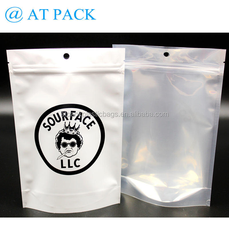 Customized printed foil laminated resealable mylar bags for meat,pork,beef,sea