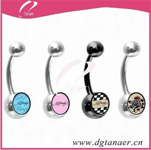 Elegance body jewelry 100 belly ring