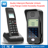 smart zigbee home automation wireless door phone intercom system for hotel