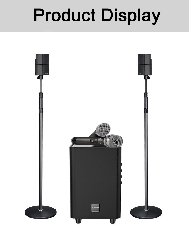 Newest best sound box hifi music system 2.1 karaoke speaker with APP/USB/bluetooth sansui Q3