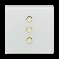 GW-6323-R Touch waterproof crystal glass zigbee wall switch