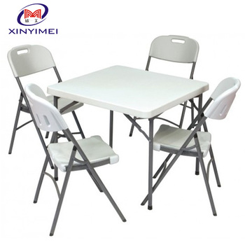 Guangzhou Folded Event Plastic Tables and Chairs