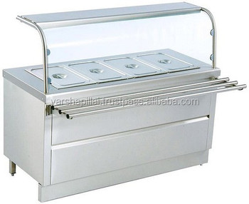 Commercial Stainless Steel Table Top Bain Marie