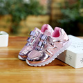 The new 2016 Fashion Lighted up the LED Luminous kids sneakers recreational shoes baby boys and