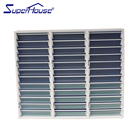 Hot sale security aluminum louver blade shutter window with AS2047