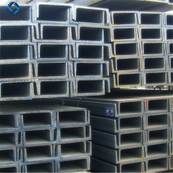 Hot Rolled And Cold Bended Mild Steel C Channel Steel Dimension And