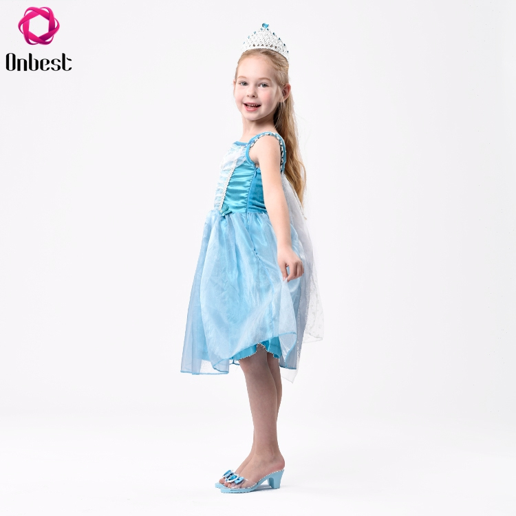 Mode Cosplay Parti Costumes Fille Princesse Robe Avec Bandeau