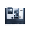 Power A6 Popular 3 axis cnc lathe machine/C axis high rigidity and fast speed horizontal lathe
