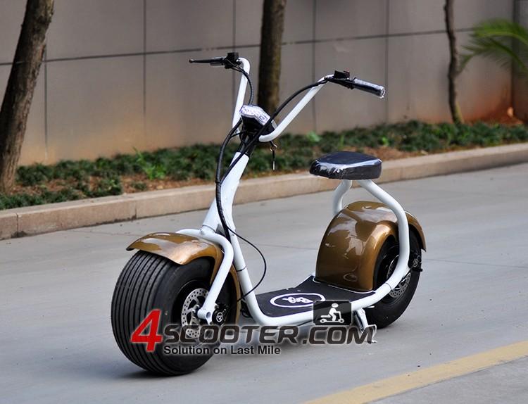 2016 New Big Wheel 500w Burshless Motor Junior City Coco Electric ...