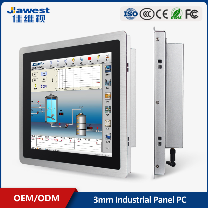 2017 Hot sale anti-interference open frame panel pc 10.1 capacitive touch screen