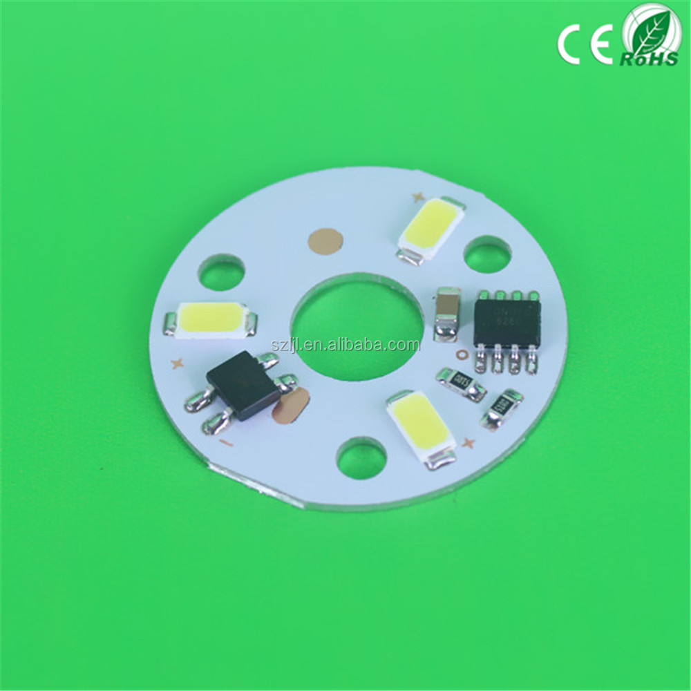 220v 3w/5w/7w Smd 2835 Led Circuit Pcb With Warm White