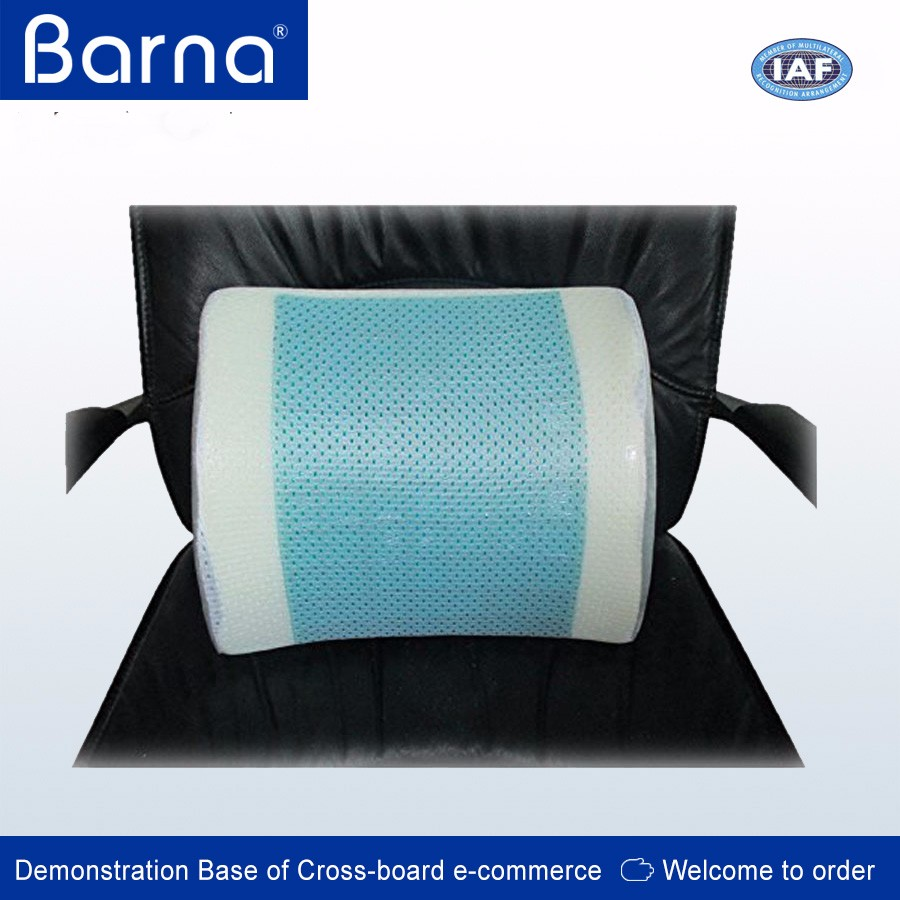 Contour gel lumbar back cushion ideal lumbar support to ease lower