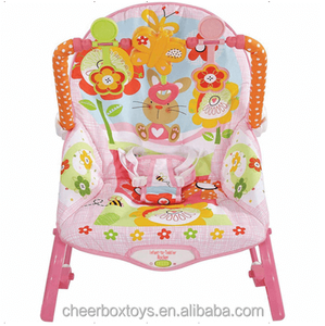 Vibrating musical baby rocker for toddlers,baby bouncer rocker chair