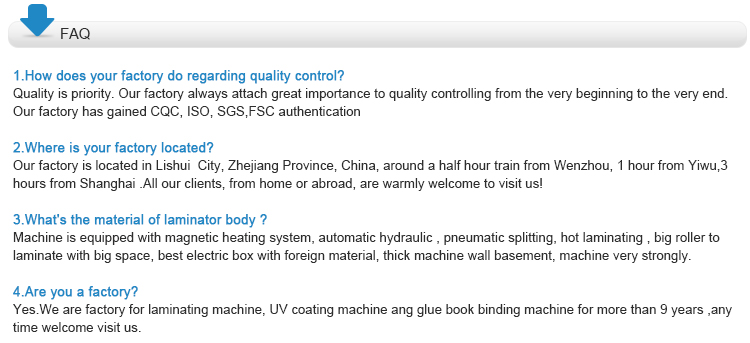 YFMZ1100A Thermal Film Double Side Map Laminating Machine