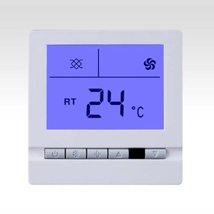 Fan speed control room temperature thermostat