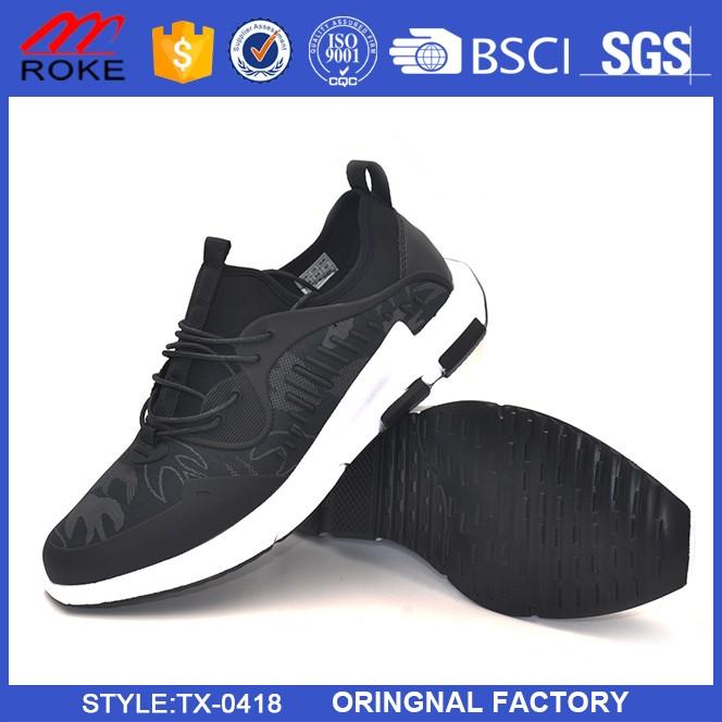 2017 new arrive european style man sport shoes running