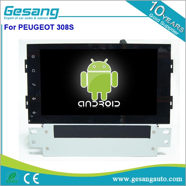 Android 2 Din Car Radio for Peugeot 308s With Navigation , Auto Radio With Bluetooth, Autoradio 2 Din Dvd Gps