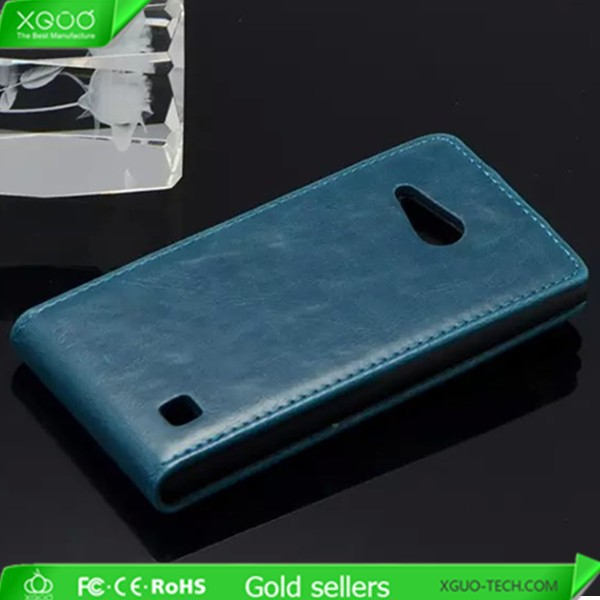 hot sell pu flip cover case for nokia lumia 730
