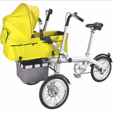 Custom Baby Fashion Mother Bicycle Kids Stroller Korea In One