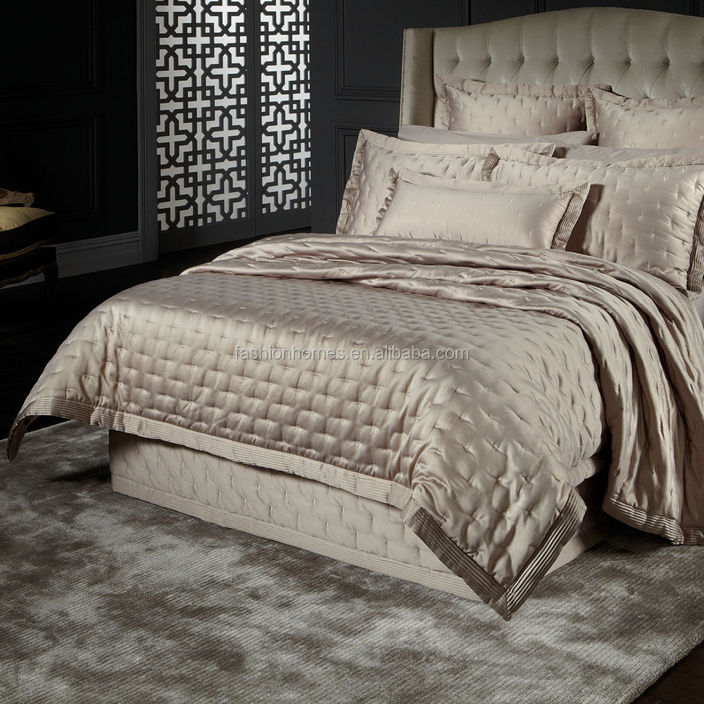 Luxury Super King Size Silk Satin Bedspreads Buy Silk