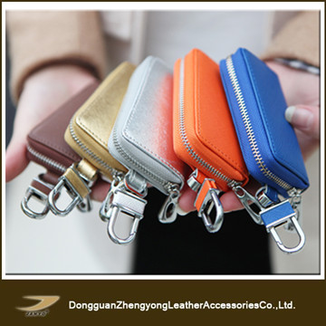 leather car key case also coin case
