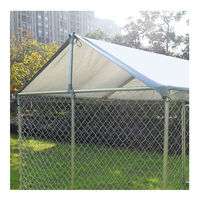 Portable Dog Friendly Large Space Wire Mesh Kennels, Customized Outdoor Pet Play Cage Pens