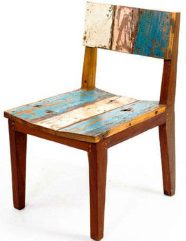 Chair Made Of Old Boat Wood Bwc27