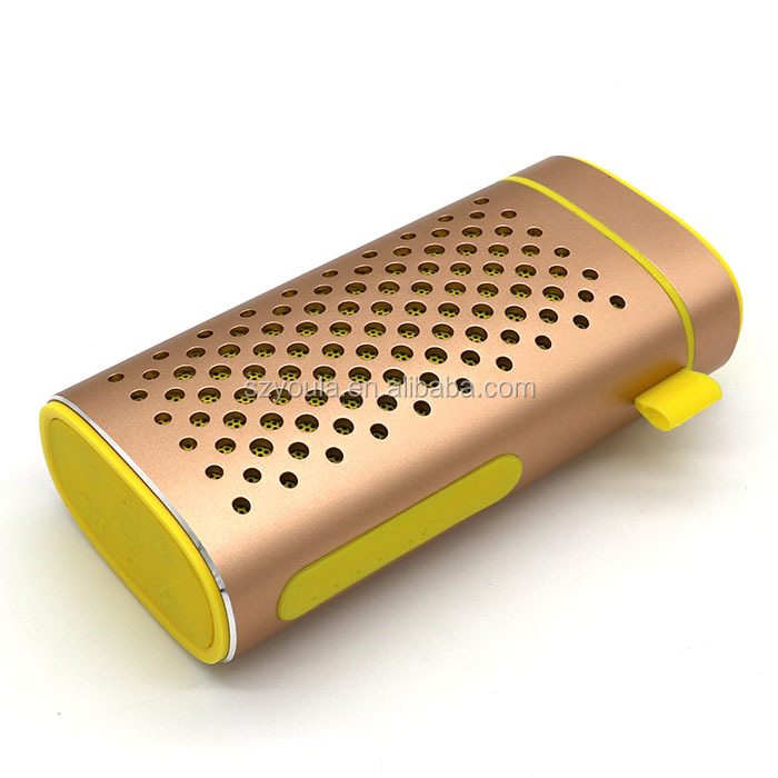 YOULA Y-6 WATER RESISTANT POWERBANK SPEAKER, 4400mAH CAPACITY, ENDURABLE BODY,, ANTI-DUST, ANTI-SHOCK