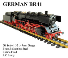 BR41 1:32 Live Steam locomotives (Brass made)
