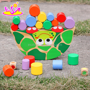 New funny play balance wooden discovery kids toy W11F049