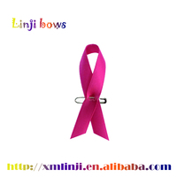 2015 hot selling best quality pink ribbon breast cancer,pink breast cancer ribbon pin wholesale