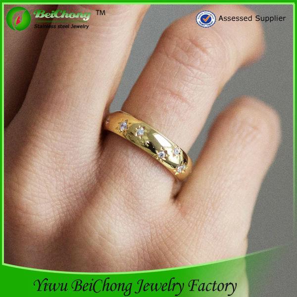 Cheap Wholesale Fine 18k Gold Wedding Rings Turkish Fine Jewelery