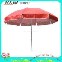 Alibaba China Cheap price Sunshade 8 steel ribs beach umbrella for chairs