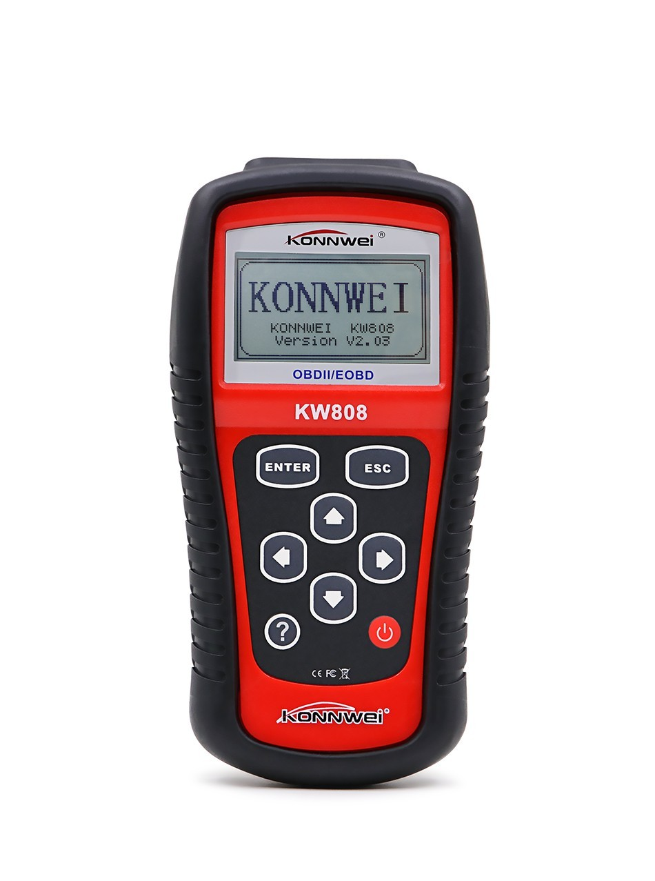 KONNWEI KW808 OBD2 Scanner Car KW 808 Diagnostic Code Reader CAN Engine Reset Tool ms509 Auto Scanner Coverage free update