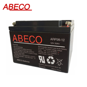 Rechargeable Sealed Lead Acid Battery AV series AVP20-12IE 20Ah 12V