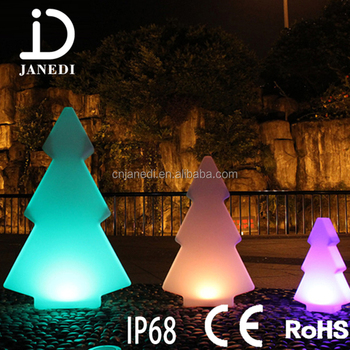 rgb with remote control change color outdoor decoration led christmas tree lights