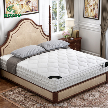 Luxury Dunlop latex Cooling Gel Memory Foam 5 Zone Pocket Spring Bedroom Mattress