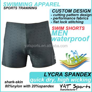 946c4e2a216c3 nylon spandex fabrics Professional beachwear brief custom lycra men swim  shorts